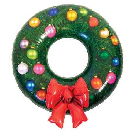 Inflatable Wreath