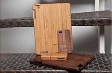 Bamboo Tablet Protectors - The Vers Wood iPad Cases are Elegant and Chic