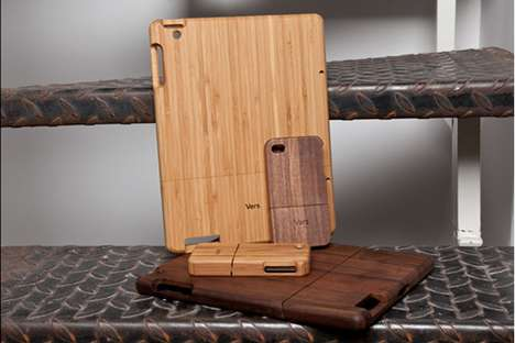 Vers Wood iPad Cases