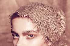 Burlap Bag Headwear