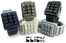 Number Pad Timepieces