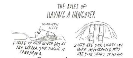 The Rules of a Hangover