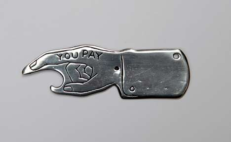 &#8216;Spin To See Who Pays&#8217; Bottle Opener