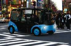 Autonomous Minibus Cabs - The Meek Taxi is Self-Driving and Designed for the Year 2022