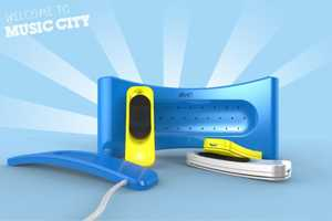 The BIC Music City MP3 Enables You to Create Physical Playlists