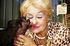 Lipstick-Licking Dog Ads - The Yarrah Bio Campaign Advocates Healthy Habits for Pets