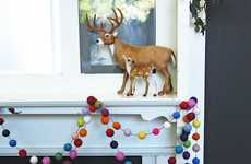 Rainbow-Inspired Festive Garlands