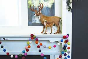 The 'Down to the Woods' Decoration is Colorful and Cute