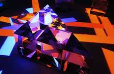 Psychedelic Prismatic Installations