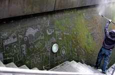 Literal Green Graffiti