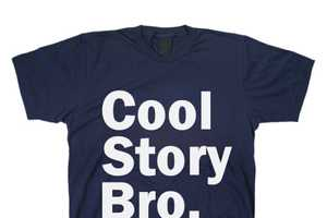 The Cool Story Bro T-Shirt Lets You Demonstrate Apathy in Clothing Form