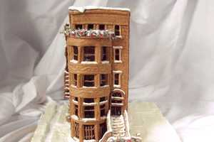The Gingerbread Brownstone is Wonderfully Detailed