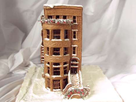 Sugary Sweet Townhouses - The Gingerbread Brownstone is Wonderfully Detailed