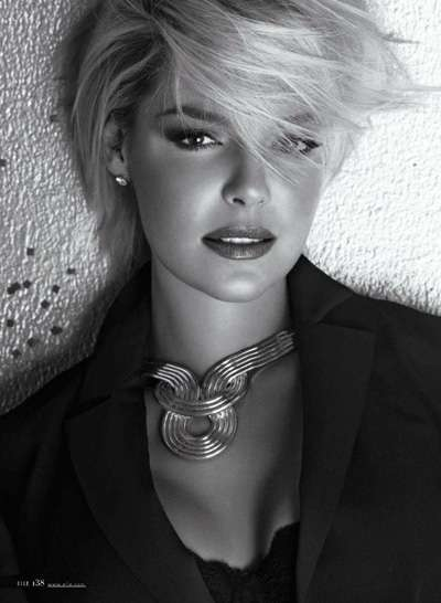 Katherine Heigl Elle US January 2012