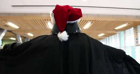 Darth Vader Conducted Christmas Choir