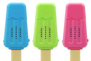 Ice Cream Bar Speaker Looks to Blast Tunes with Sweet Confection