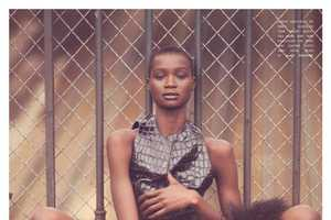 The Ataui Deng for Flaunt Winter 2011 Shoot is Luxurious and Chic