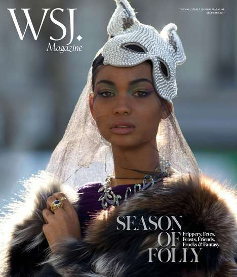 Chanel Iman by Hans Feurer Wall Street Journal December 2011
