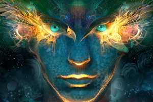 Android Jones Creates Transcendental Beings