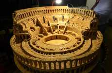 Corked Colosseum Sculptures