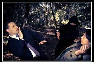 The Ninja Attack Engagement Photos Feature an Adorably Assailed Couple