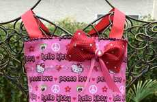 Child-Friendly Kitchen Wear - The Hello Kitty Apron Will Encourage Kids to Cook while Staying Clean