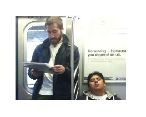 Celebrities On The Subway Tumblr