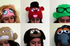 Expressive Puppet Toques - Handmade Muppet Hats Get Cozy for the Winter