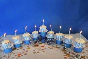 The Cupcake Menorah Will Make This Hanukkah Irresistibly Delicious