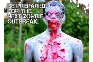 The Zombie Industries Combat Dummies Really Bleed