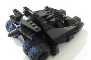 The Custom LEGO Batmobile Tumbler Recreates the Dark Knight's Epic Ride