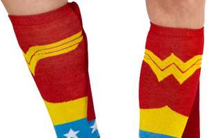 These Superhero Socks From 80sTees Give Your Feet an Alter Ego