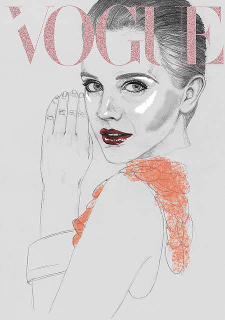Illustrated Vogue Covers