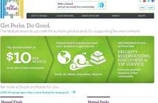 Incentivized Charity Sites