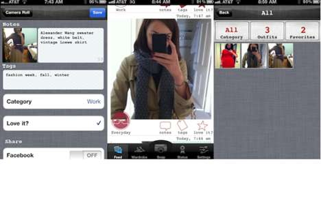 Wardrobe Tracking Tools - Cloth App Lets You Mix, Match and Catalog Your Favorite Outfits