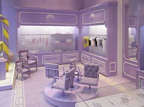 Kiddie Couture Boutiques - Young Versace Opens in Milan for Label-Loving Toddlers