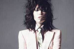 The Raquel Zimmermann by David Sims for Vogue Paris Shoot is Rocker Chic