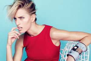 The Karolina Kurkova by Nagi Sakai for Elle France Shoot is Stunningly Chic