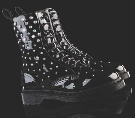 Dr Martens x Swarovski Elements collection