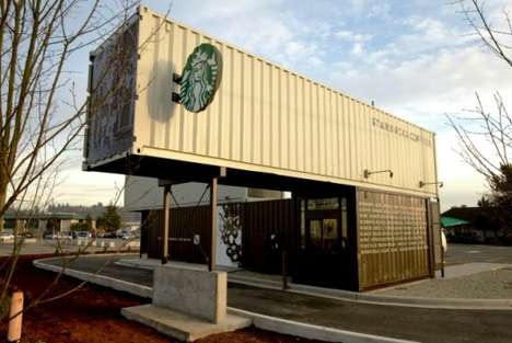 Starbucks Shipping Container