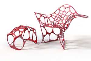 The Batoidea Chair Offers a Modern Design Modeld After Oceanic Life