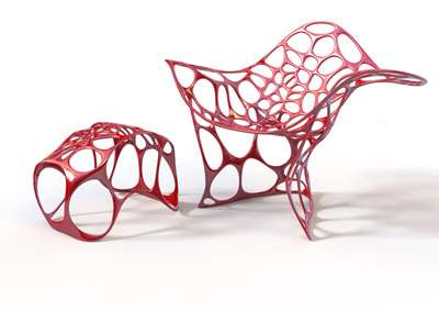 Unusual Sea-Inspired Seats - The Batoidea Chair Offers a Modern Design Modeld After Oceanic Life