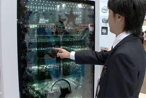 Facial Recognition Product Dispensers - Sanden Vending Machine Provides Extreme Customization