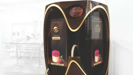 Adult Dessert Dispensers - The Jell-O Temptations Vending Machine Yells at Children