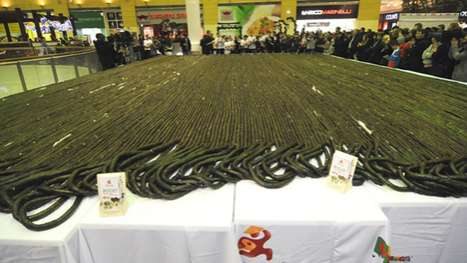 world s longest sushi roll