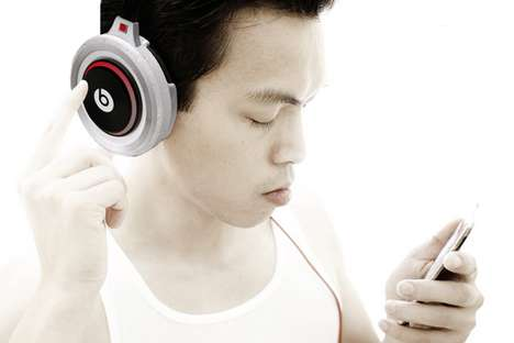 Turntable Earphone Concepts - Spin Headphones Let You Remix Your Music On-the-Go