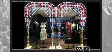 Virtual Window Shopping - Turn Hills Lets Online Shoppers Browse the Storefronts of NYC Stores