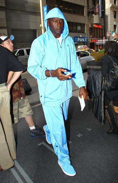 What the F is Michael Jordan Wearing