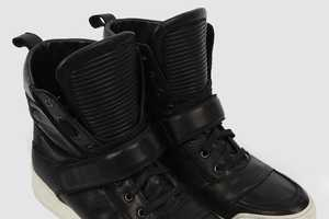 The Balmain Spring/Summer High-Top Sneakers are Haute and Hip
