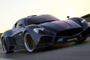 The Faralli and Mazzanti Evantra Hits High Speeds on the Open Road